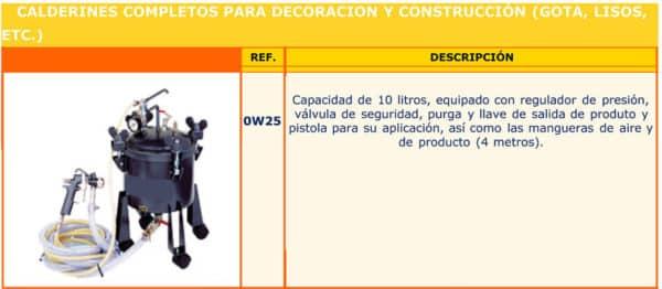 Calderines Imcoinsa - Alquiler de herramientas