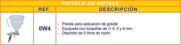 Alquiler de herramientas Madrid - Pistola de gotelé