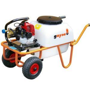 alquiler de maquinaría de jardinería en Madrid Carretilla Pulverizadora de Gasolina Mod. 100 LTS 1 RUEDA