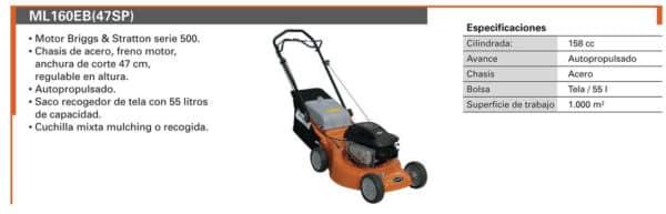 Alquiler herramientas madrid - Cortacesped Gasolina