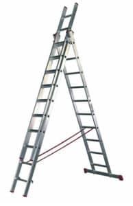 Alquileres Majo - Alquiler herramientas en Madrid - Escalera de aluminio