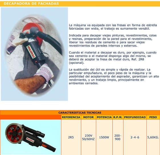 Fresadora-Decapadora de mano - Alquiler de herramientas en Madrid