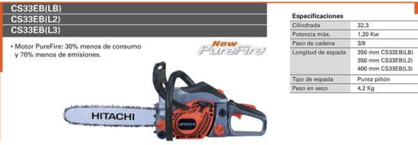 alquiler herramientas maquinaria madrid -motosierra gasolina