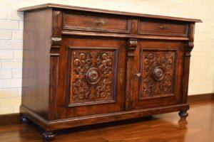 imagen de un mueble antiguo - Alquileres Majo