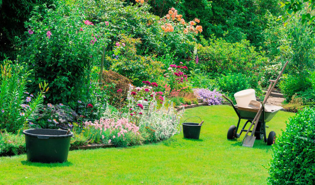 alquiler de herramientas en jardín