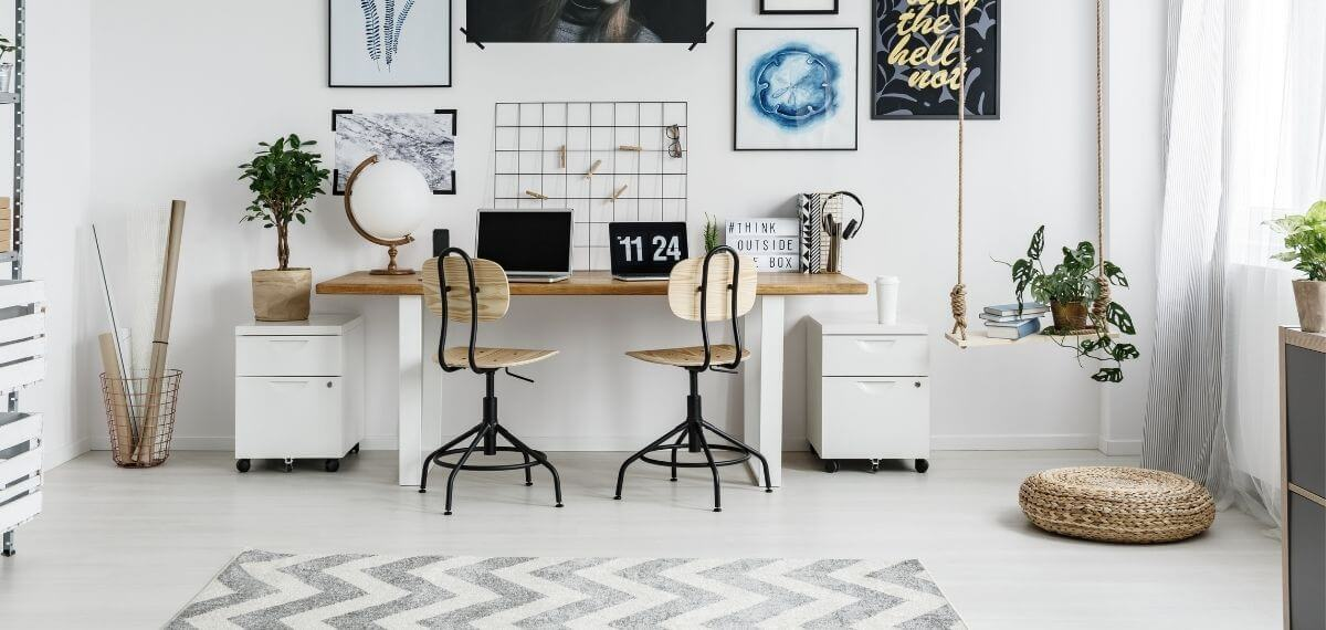 cómo hacer una oficina pequeña en casa